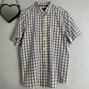 Basic Editions 3/$15 Button Up Short Sleeve Shirt